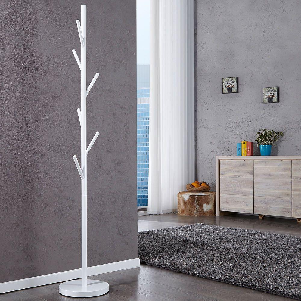 Garderobenstander Tree Weiss Garderobe Kleiderhaken Kleiderstander Jackenstander Ebay Garderobe Weiss Garderobe Stander Kleiderstander Modern
