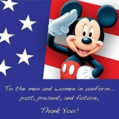 Patriotic Mickey Disney World Military Discount Disney World