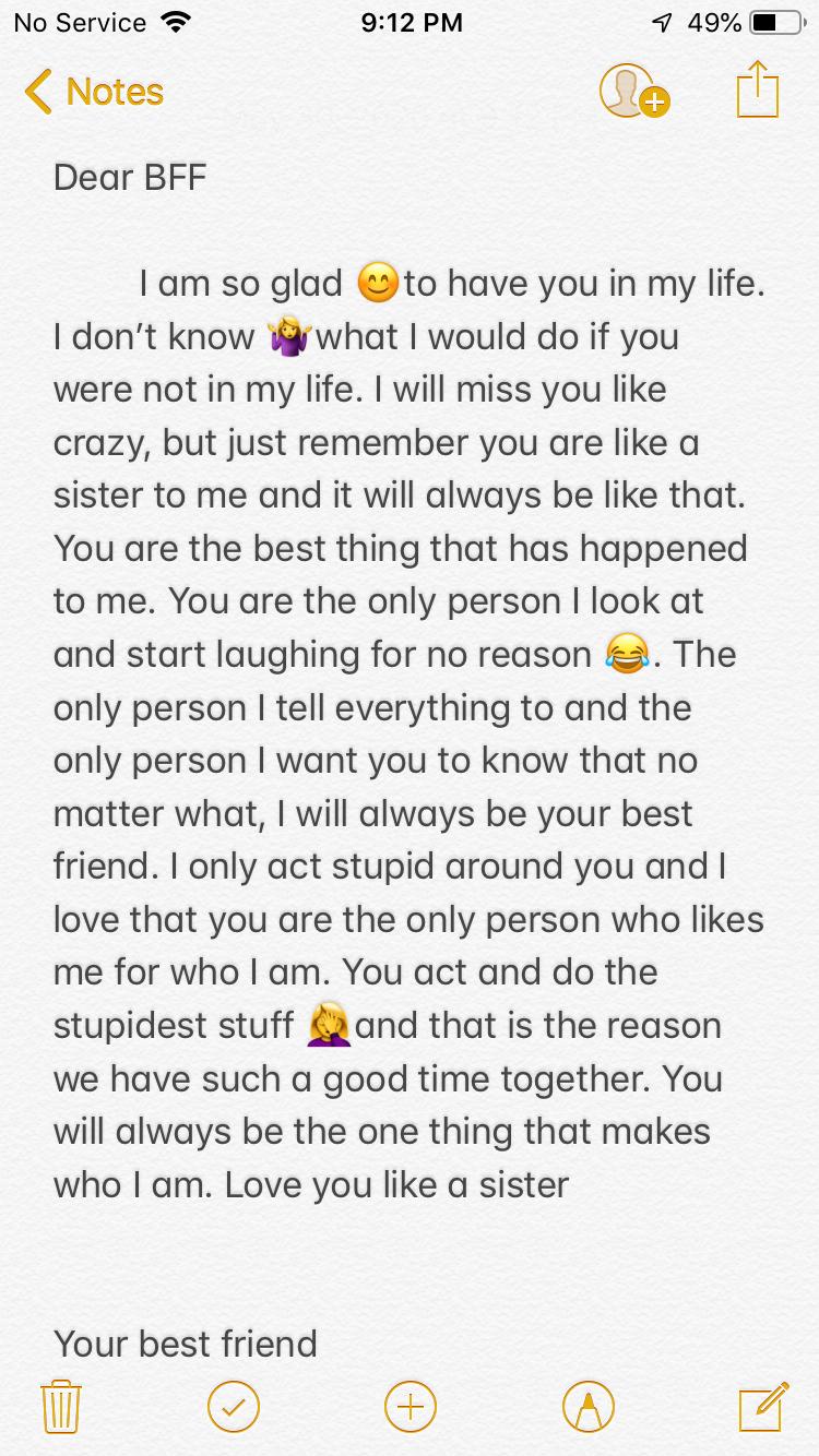 A Message To My Best Friend Happy Birthday Best Friend Quotes Friend Birthday Qu