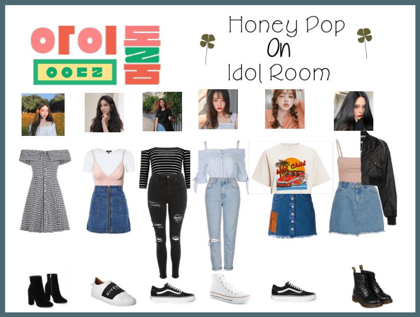 Honey Pop On Idol Room Kpop Fashion Outfits Kpop Outfits Korean Outfits