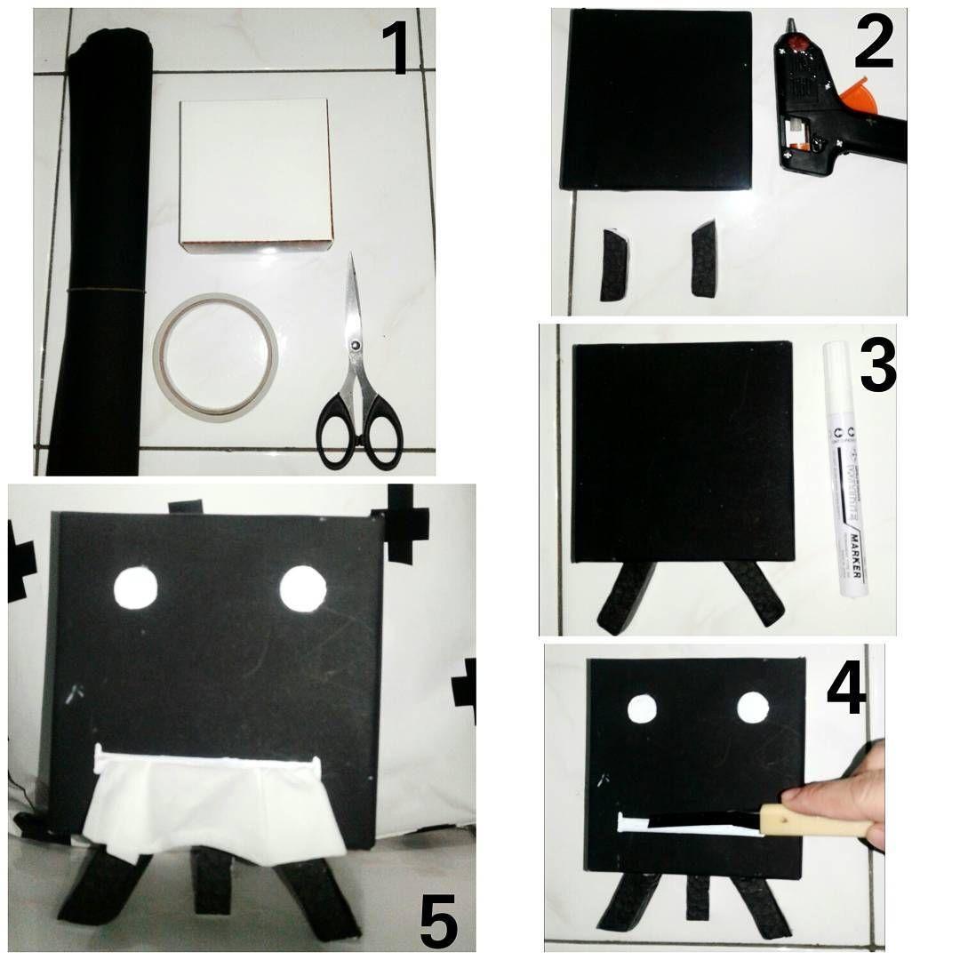 Cara Membuat Kotak Tisu Tempat Tisu Dari Bahan Bekas Kardus   DIY ...