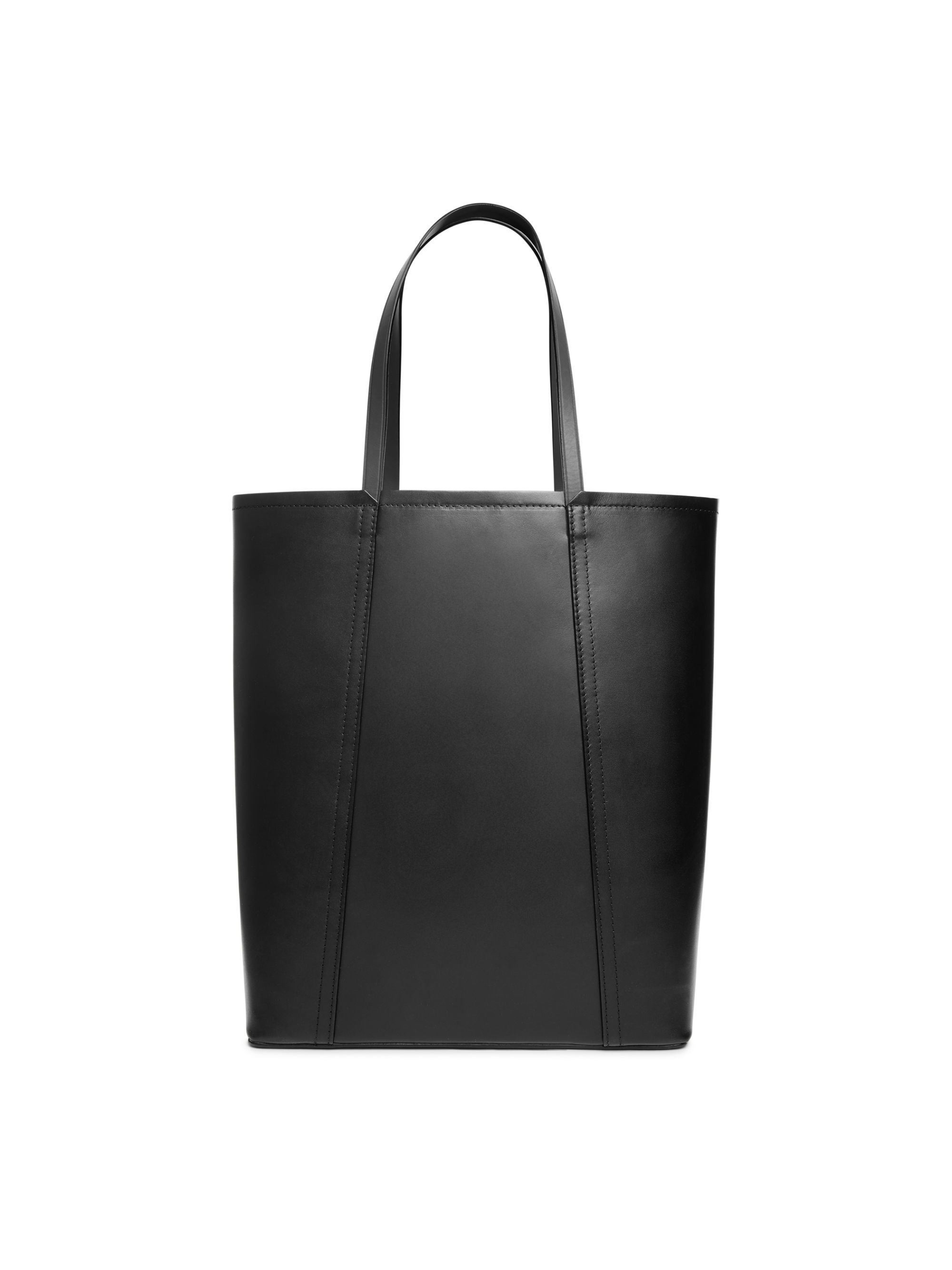 4a929fb8f6e7 Leather Bucket Tote - Black - Bags & accessories - ARKET | Väskor ...