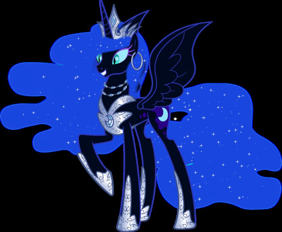 Nightmareverse Queen Nightmare Moon By Magister39 Deviantart Com