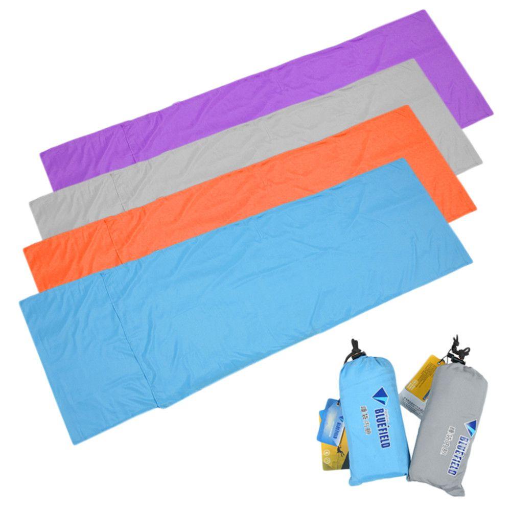 Ultralight Outdoor Spiwor Liniowej Poliester Pongee Przenosne Forniru Pojedyncze Spiwory Camping Outdoor Sleeping Bag Sleeping Bag Liner Sleeping Bags Camping