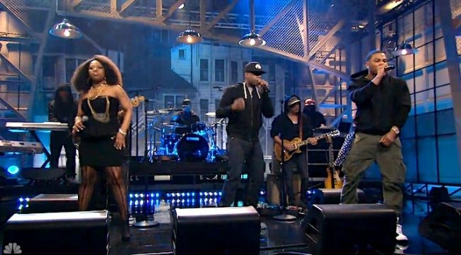 Talib Kweli, Nelly and Abbey Dodson perform 'Before He Walked' (Trayvon Martin tribute)