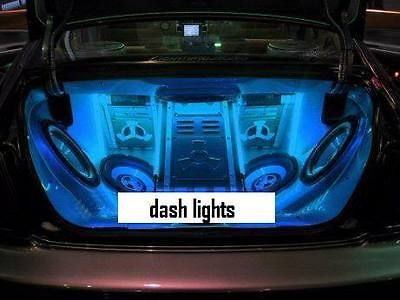New mini blue neon car #interior #angel eyes halo wire #rings led spot lights bul,  View more on the LINK: http://www.zeppy.io/product/gb/2/391336647122/