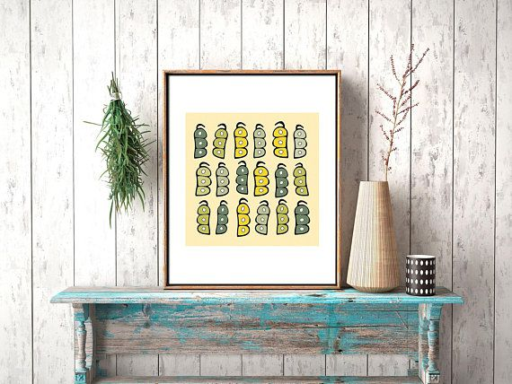 Restaurant Wall Art With Printable Food Ilration Kitchen Artwork Decor Modern Farmhouse For Dining Bohemian