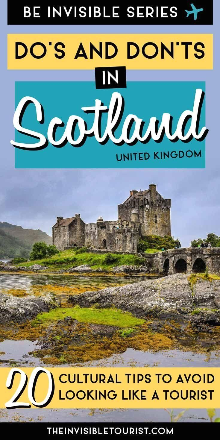 #scotland  #traveltips  #dosanddonts  #visitscotland  #travel  #uk  Traveling to Scotland for the first time? Learn the do's & don'ts for visiting with these Scotland travel tips to make the most of your trip! #Scotland #first Traveling to Scotland for the first time? Here's some things you probably haven't thought of! Learn the do's and don'ts in Scotland with these Scotland travel tips. Includes what to pack for Scotland, weather in Scotland, driving in Scotland, responsible travel in Scot