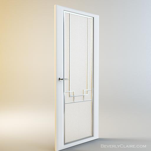 An Art Deco Door For Interior Use