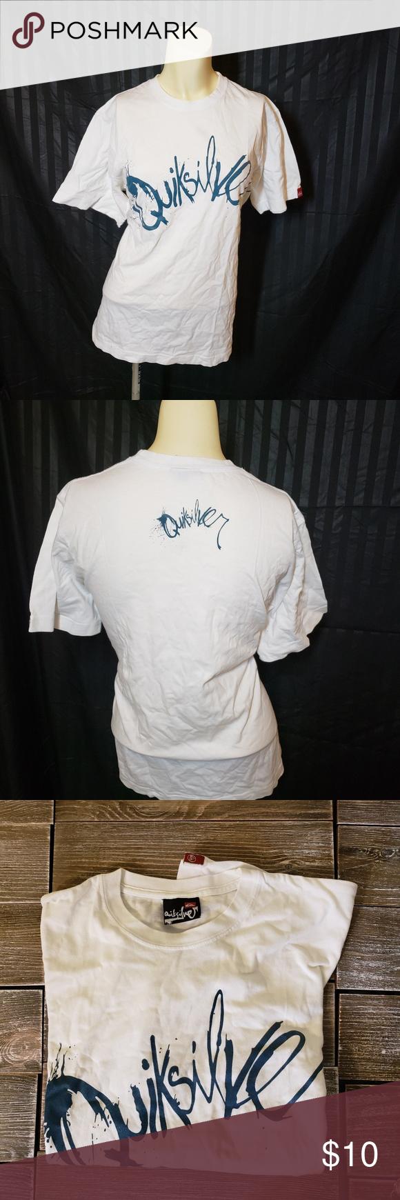 de7d4fe2aefa94 QUICKSILVER Mens Tshirt SKU 353MT Quiksilver Shirts Tees - Short Sleeve