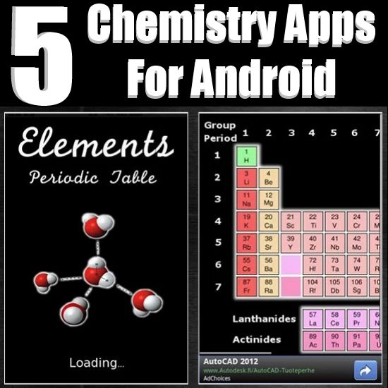 Top chemistry apps