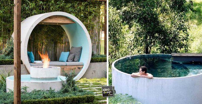 Ecco 7 incredibili creazioni realizzati con tubi di for Creazioni giardini
