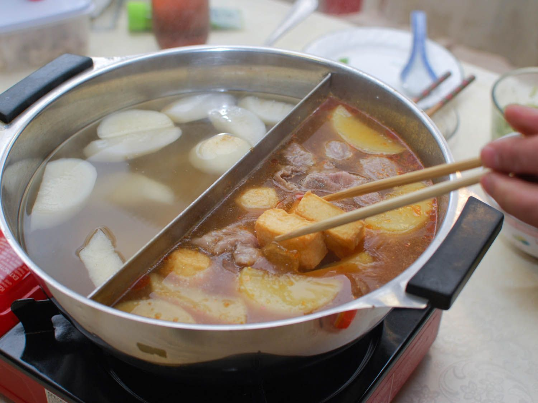hot Communal asian dish