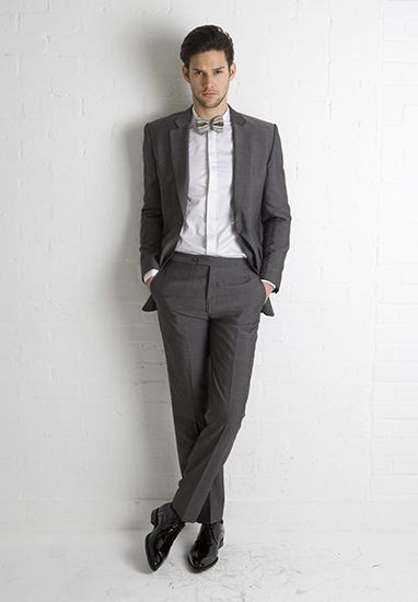 Marc Wallace - Grey mohair suit and tie - Formal Menswear in Bath S ...