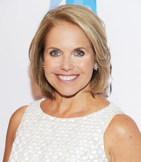 Katie Couric S Hair Evolution Round Face Celebrities Hair Evolution Hair Styles 2016
