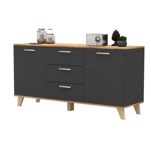 Komoda Oslo W Stylu Skandynawskim Sniezna Biel 449 Zl Allegro Pl Raty 0 Darmowa Dostawa Ze Smart Elblag Stan Nowy Furniture Cabinet Home Decor