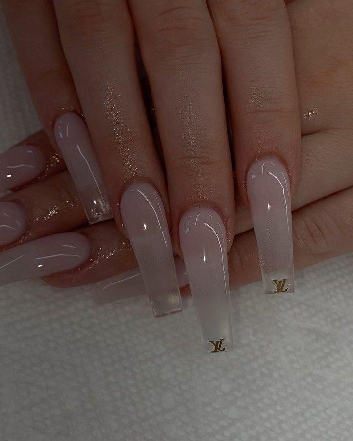 Claws Fercnmi Clear Acrylic Nails Long Acrylic Nails Coffin Acrylic Nails