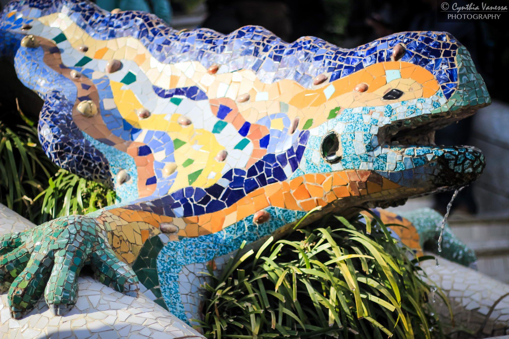Photograph Salamander of Park Güell by Cynthia Vanessa on 500px