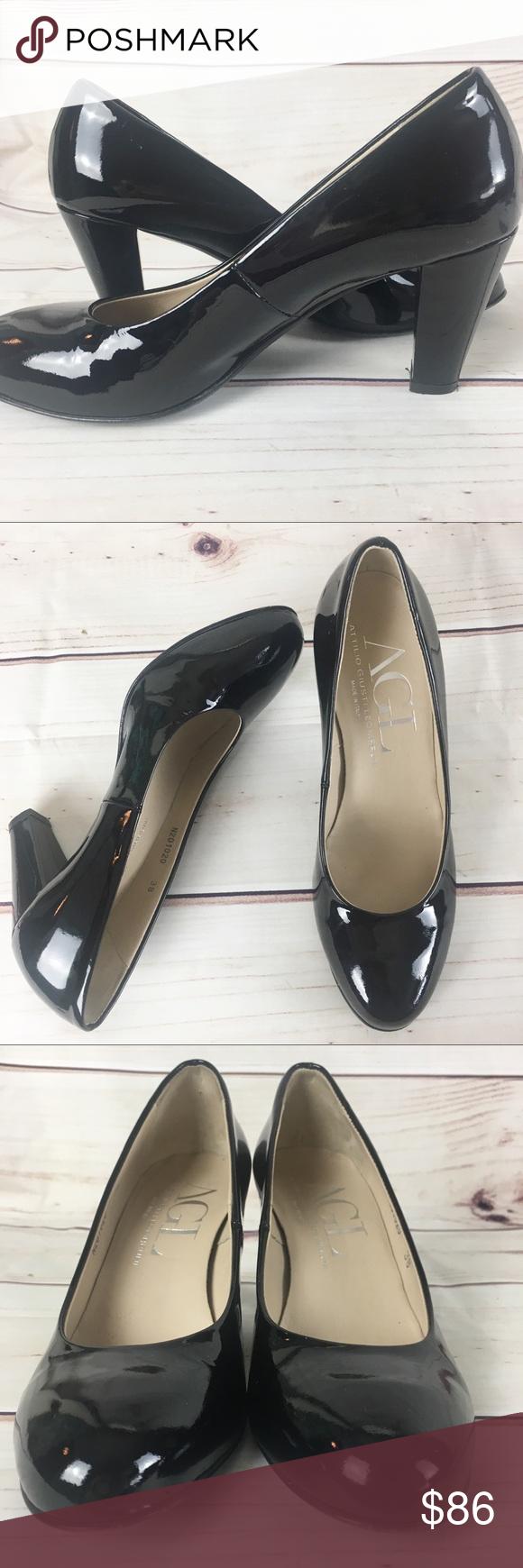 AGL Attilio Giusti Leombruni Cap Toe Ballet Heel | Shoes