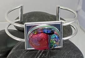 Resultado de imagem para fused glass bracelets