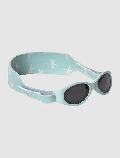 31349e4381 Gafas de sol VERTBAUDET para bebé hasta 18 meses ROSA CLARO LISO+VERDE CLARO  LISO