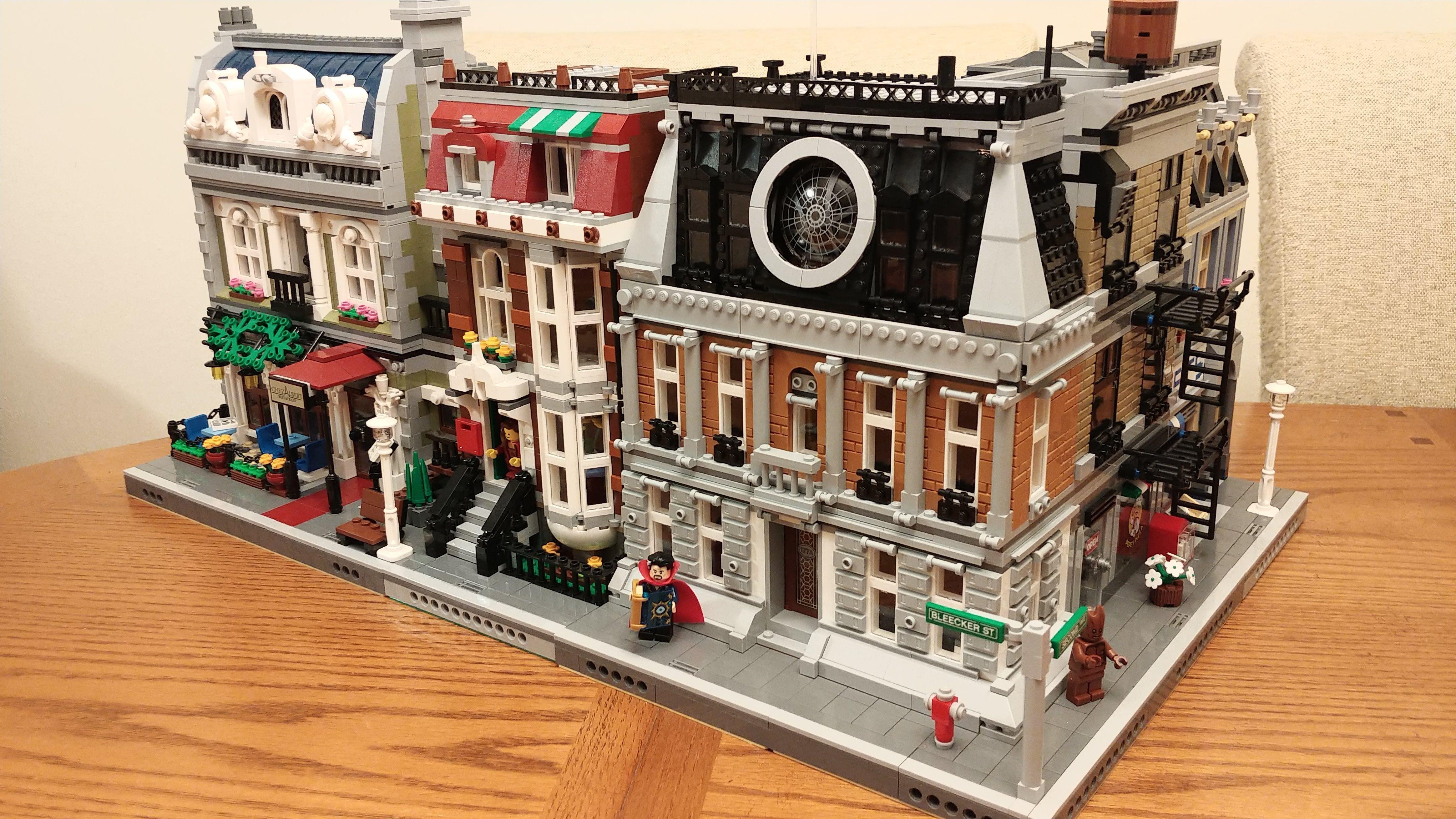 LEGO Dr Strange Sanctum MOD | LEGO Dr Strange Sanctum MOD