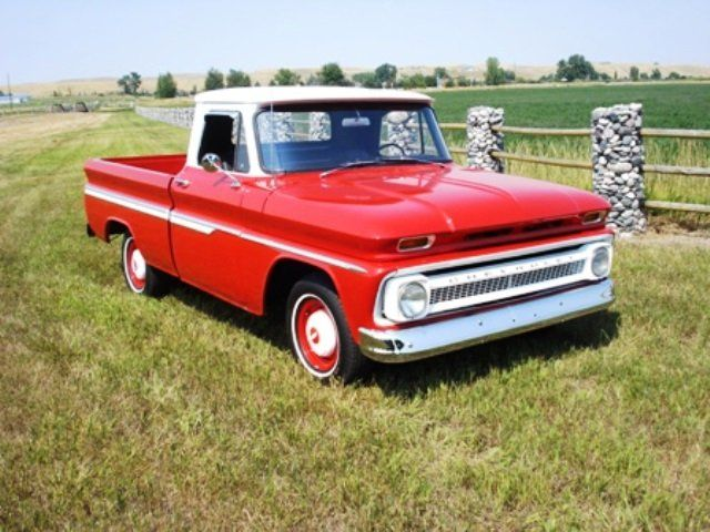 1966 Chevrolet C10 Fleet Side Short Box Ton Pickup Billings