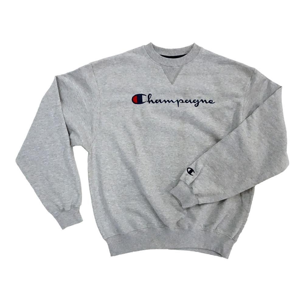 Parity Champagne Champion Logo Sweatshirt Up To 60 Off [ 1000 x 1000 Pixel ]