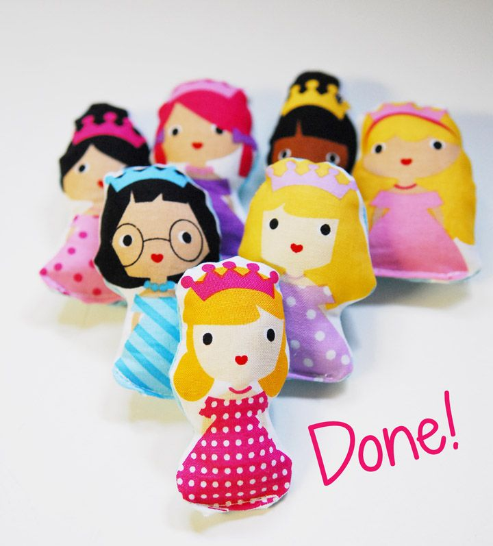 Look at the cute Ann Kelle Girlfriends dolls by Shauna of Shwin and Shwin.  She made PJs too, but the dolls are just too cute!