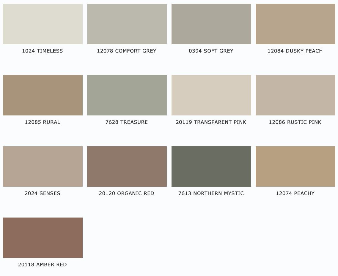 Jotun Professional Rustic Color Palettes Rustic Colors Colorful Interiors