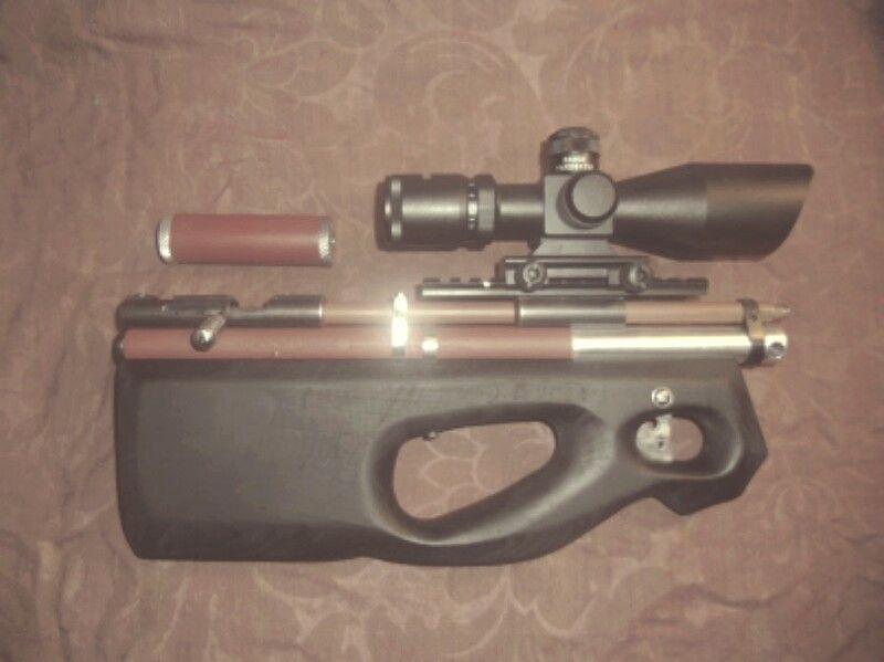 139 Best Pcp Air Rifles Images On Pinterest: Handmade PCP Rifle