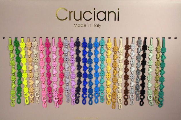 size 40 73ccb b4022 macrame bracelet cruciani - Google Search | Wardrobe ...