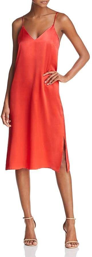 c6cf75ef6e32 Anine Bing Gemma Silk Slip Dress | Products | Pinterest | Silk slip ...