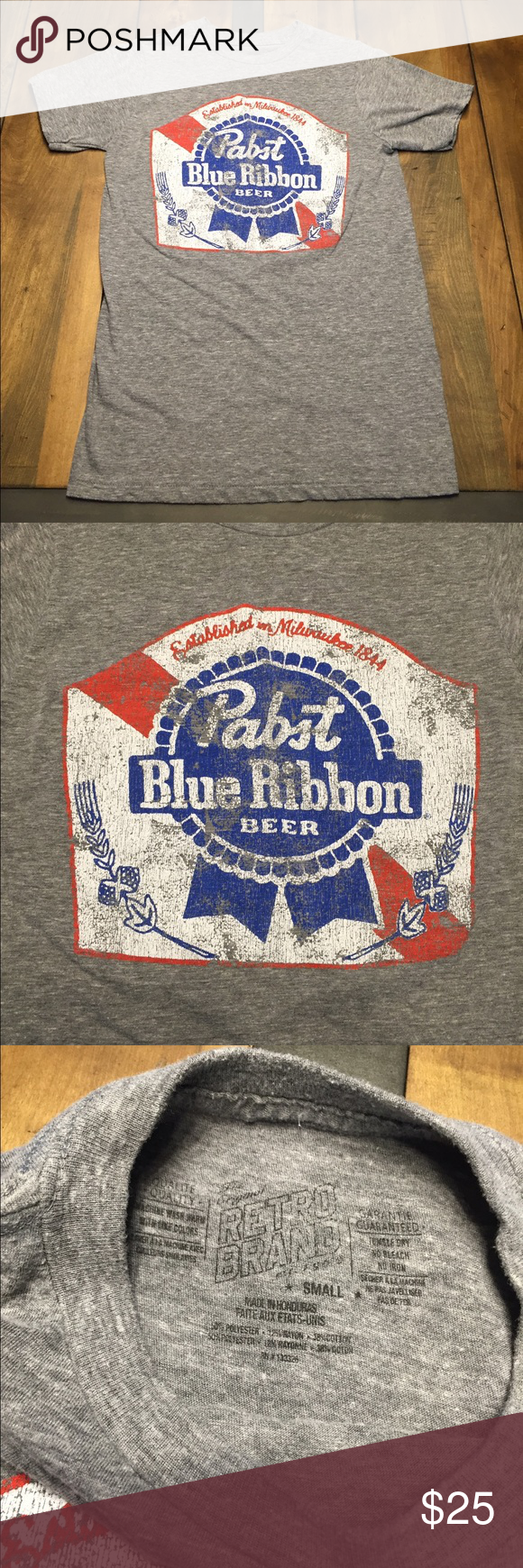 f855f0bd32a Pabst T-shirt Pabst blue ribbon beer tshirt. I bought this from urban  probably