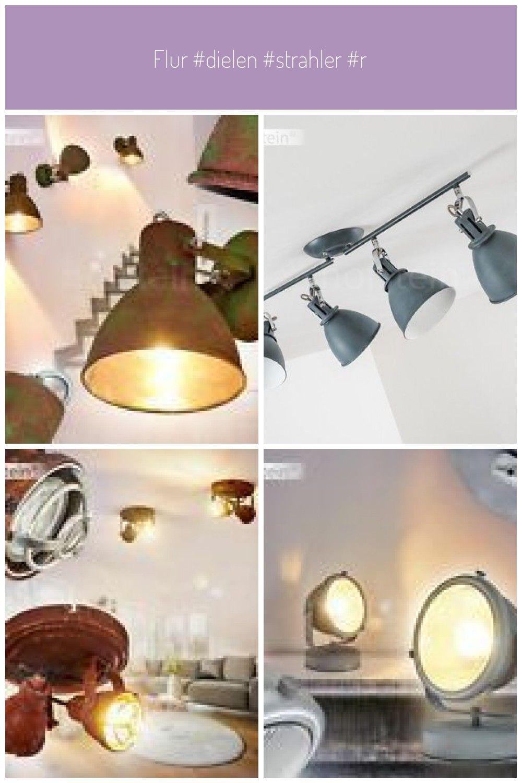Flur Boden Lichter Rost Vintage Wand Decken Beleuchtung Beleuchten Lampen