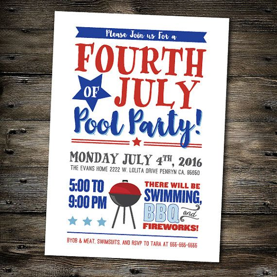 Pin By Desiree Vozna On Party Time Pool Party Invitations Party Invite Design Bbq Invitation