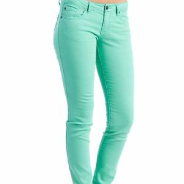 not only my favorite color but JEANS!!