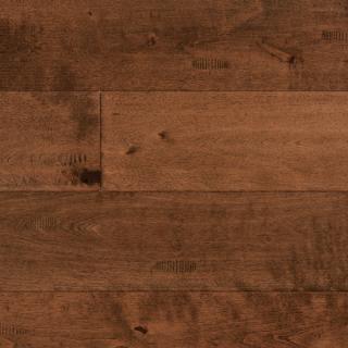 Maple Prarie Brown 3/4 x 4-3/4 Hand Scraped Hardwood Flooring