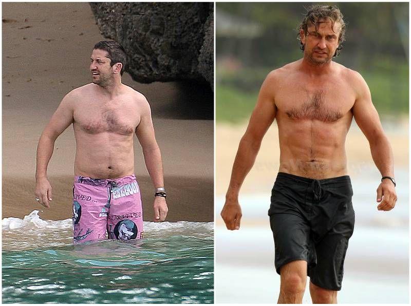 Gerard Butler's weight - 225 pounds (102 kg) | Actors ...  Gerard Butler&#...