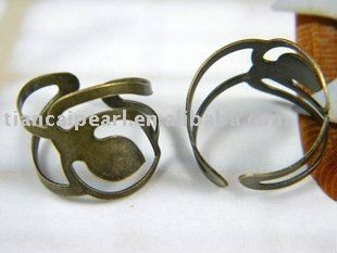finger ringAdjustable rings DIYJewelry Accessories with 20mm flat Bottom Tray ring base,finger ring blank-in Special Store from Jewelry on Aliexpress.com
