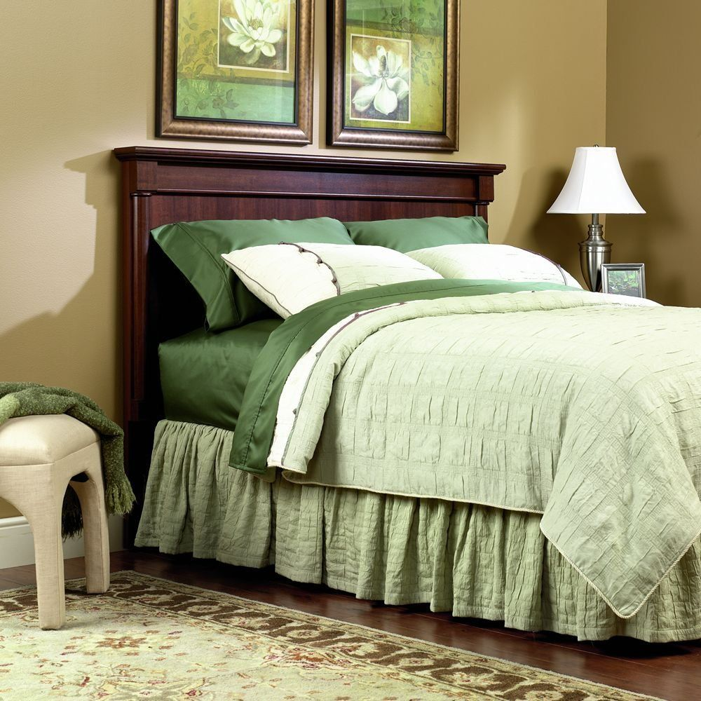 Sauder Palladia Headboard in Cherry (With images) Cherry