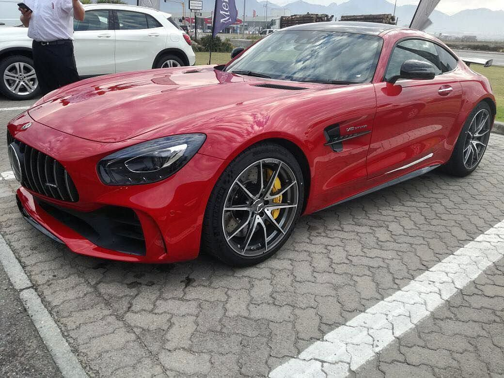 One of the AMG GTR's residing in South Africa spotted by
