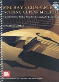 Mel Bay's Complete 7-String Guitar Method by Chris Buzzelli - Book & CD. £19.95