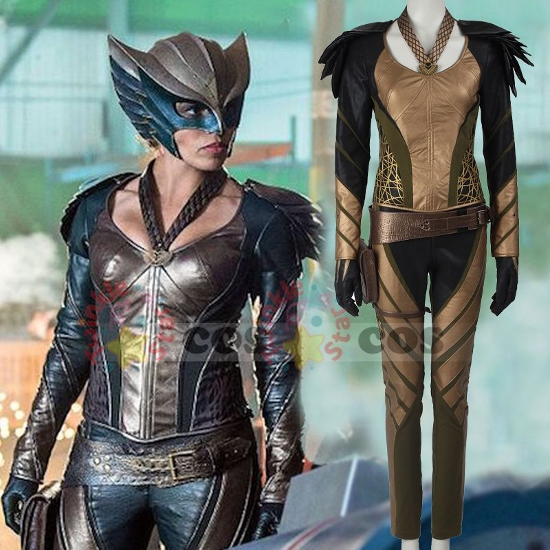 DC/'s Legends of Tomorrow Hawkgirl Cosplay Costume Green Arrow Superhero Full Set