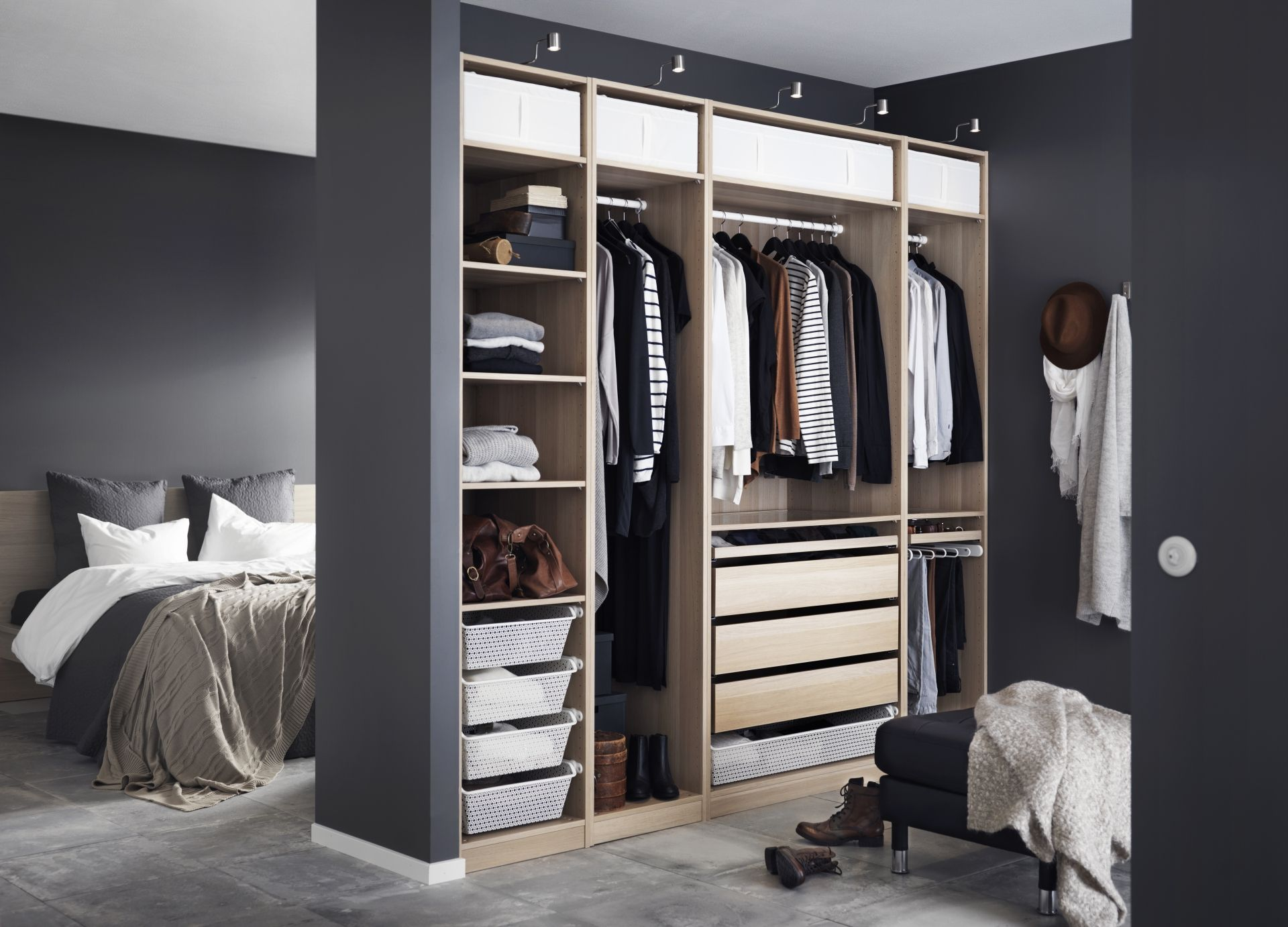 Ikea Kasten Slaapkamer : Pax garderobekast ikea ikeanl modulair systeem kast
