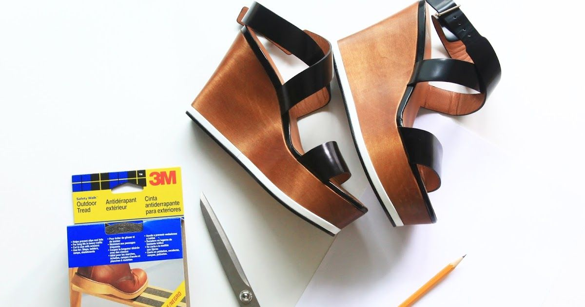 Diy how to make your own antislip sole how to make shoes