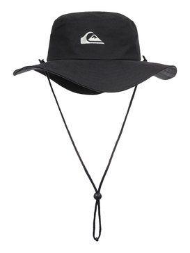 d8211841645ef1 quiksilver, Bushmaster Hat, BLACK (kvj0) | hats | Hats, Safari hat ...