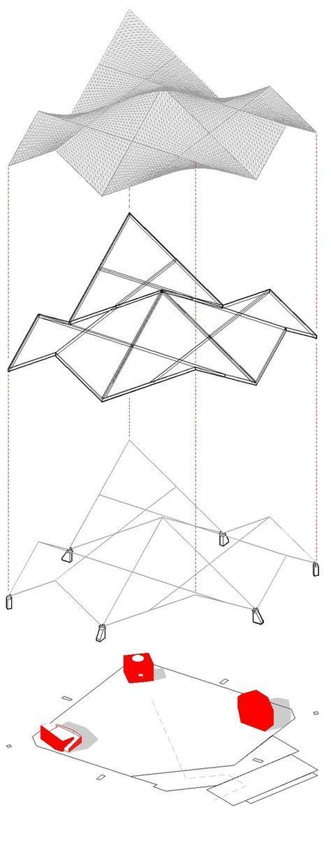 Photo of 19 Trendy Origami Architecture Diagramm # architektonischepräsentation 19 Trendy Origami Architecture