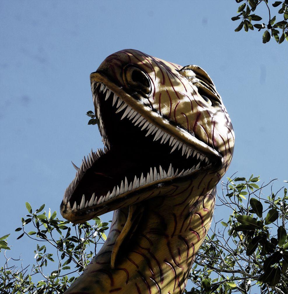 #Dinosaurio #HaciendaNapoles