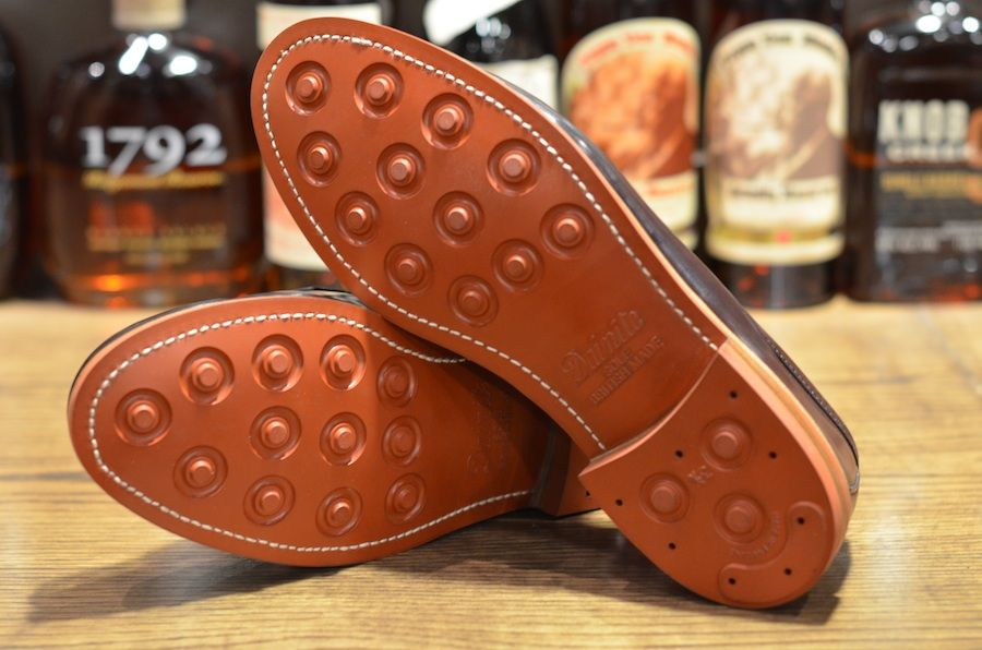 71886b44fc7 Alden cordovans resoled with red brick dainite sole | Hand and Foot ...